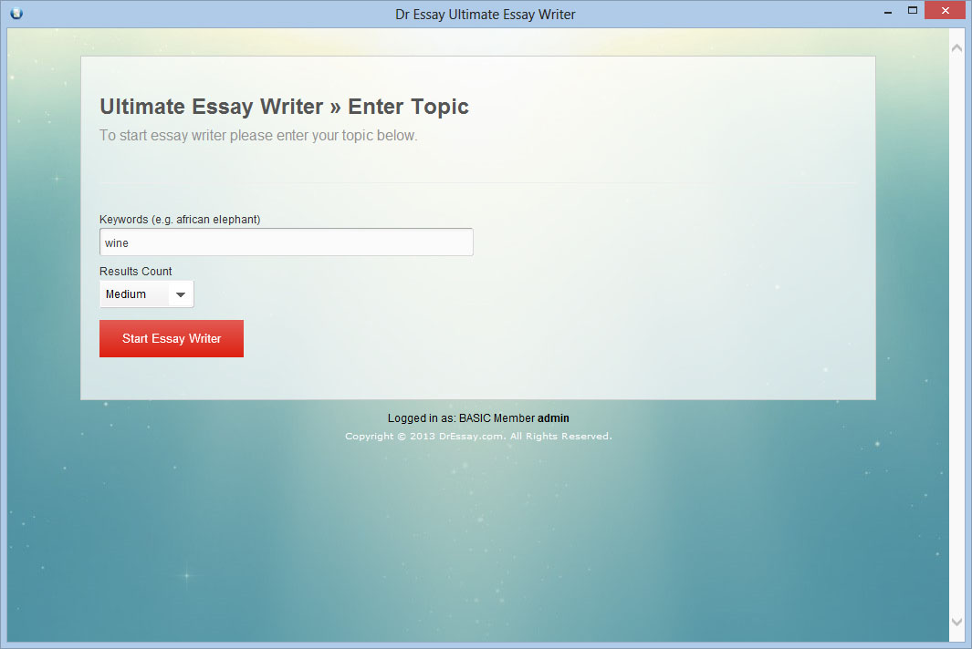 essay usage computer Our commitment we strive to deliver the best innovative academic essay writing software to our users we have a wide range of products including article generator, essay writer, article rewriter, bibliography generator, content creator and more that is.