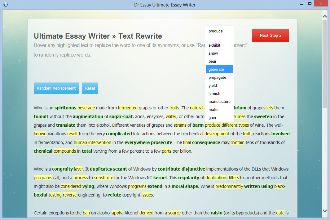 software for writers The latest software based on the dramatica story development system -- powerful new writing tools for both aspiring writers and established professionals.